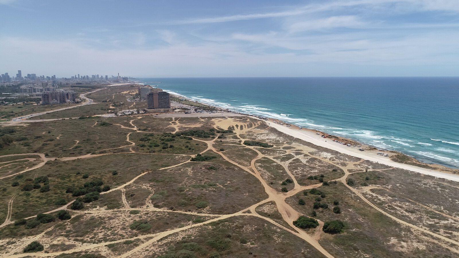 אושרה תוכנית חוף התכלת בהרצליה